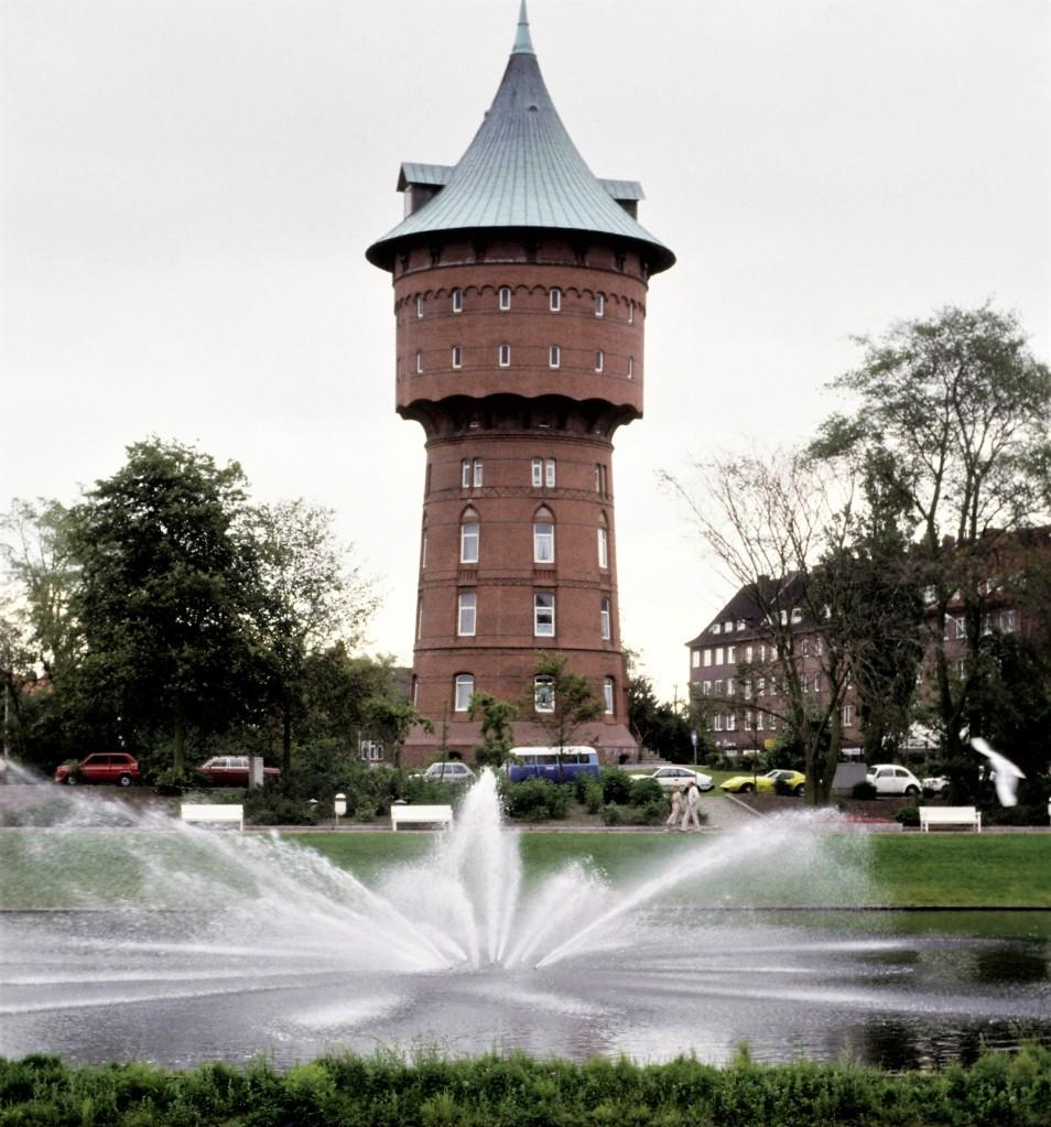Cuxhaven: Wasserturm (1987)