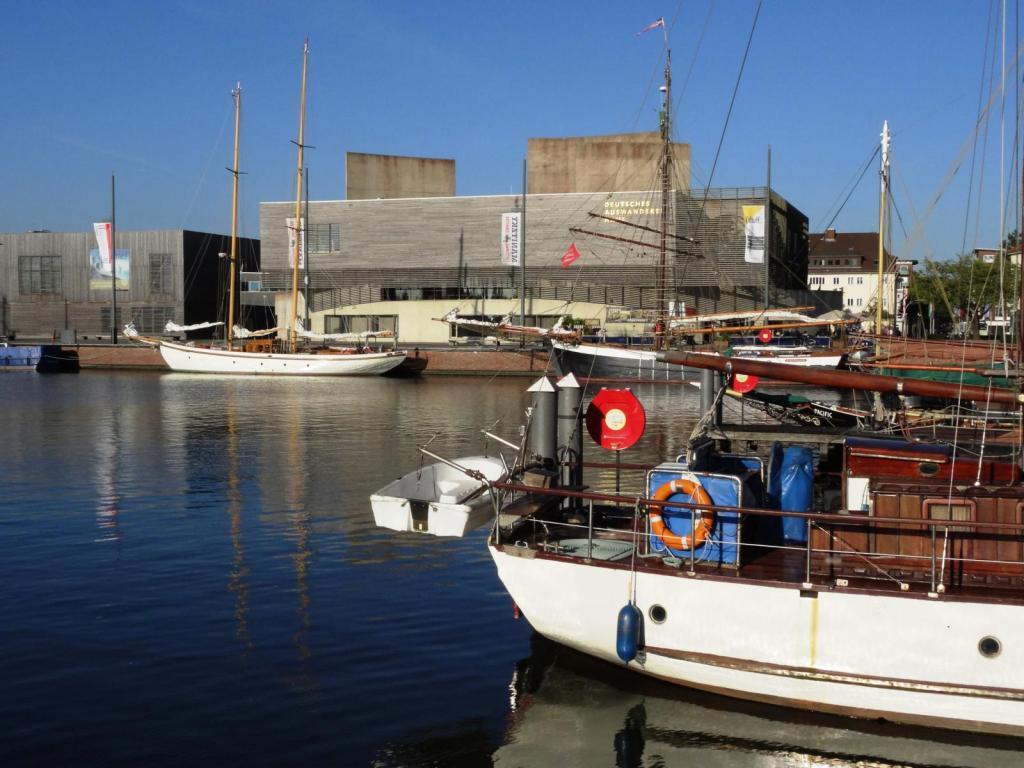 Bremerhaven: Neuer Hafen mit Auswandererhaus (2016)