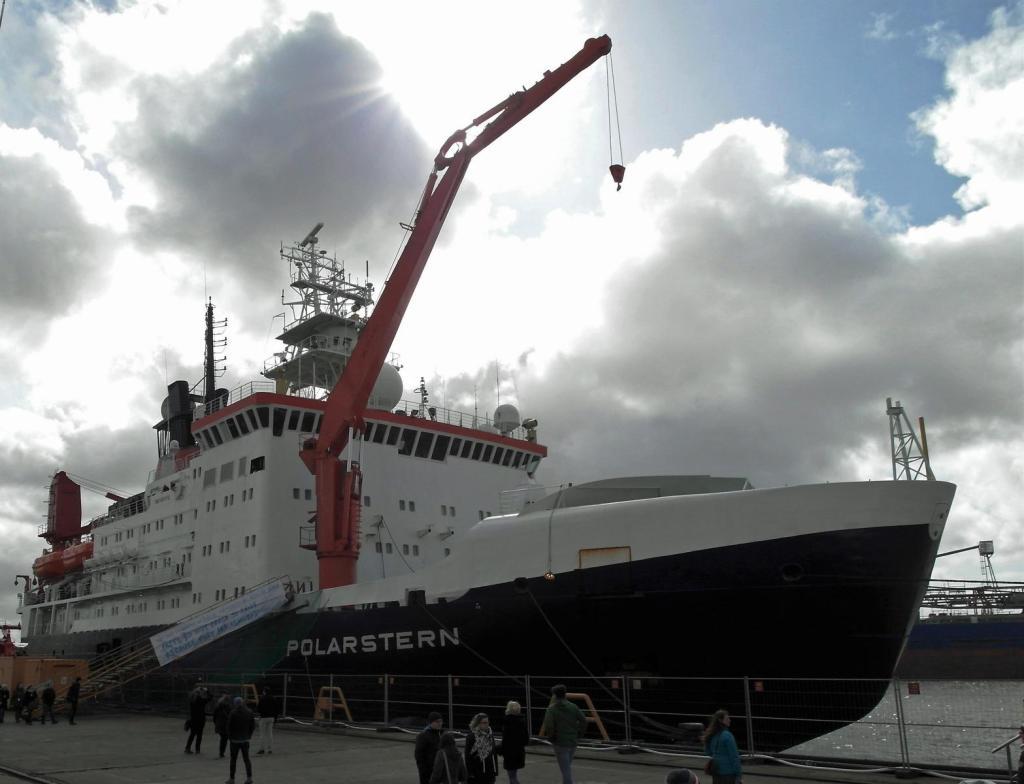 """Bremerhaven: Forschungsschiff """"Polarstern"""" (2017)"""