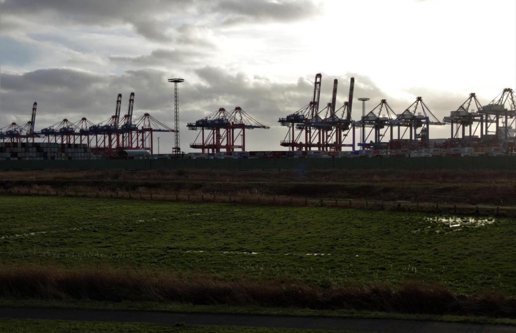 Bremerhaven: Containerhafen [Blick von Weddewarden] (2018)