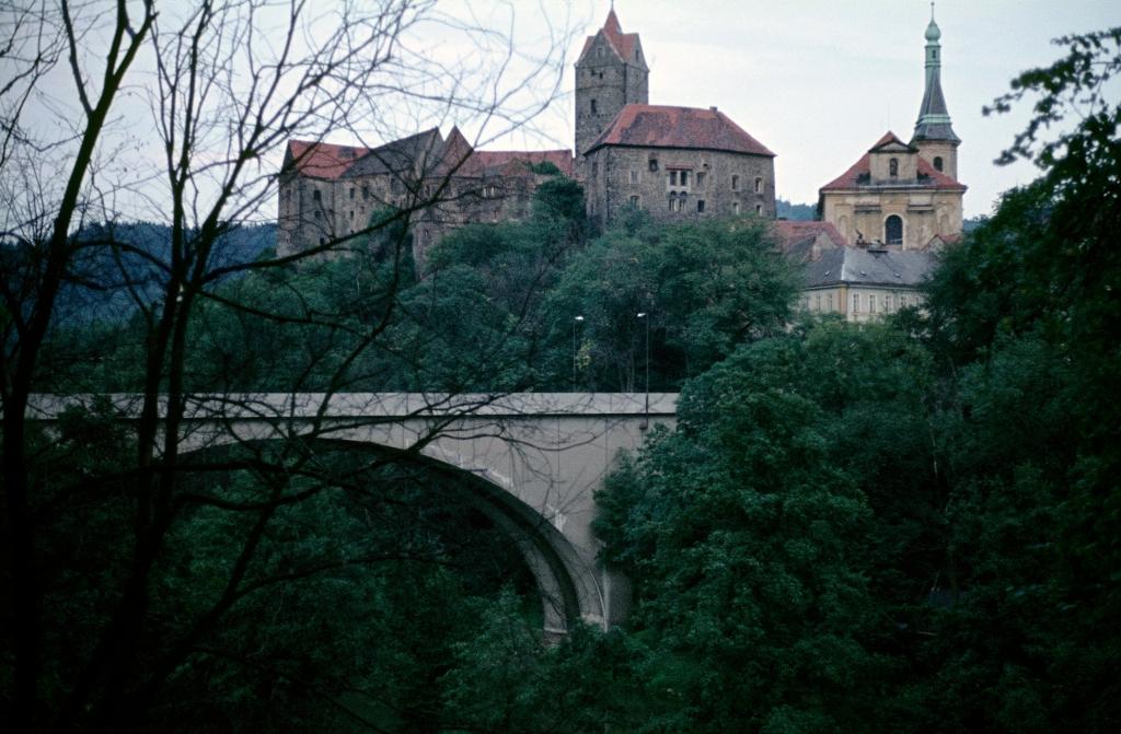 Elbogen [tschech. Loket]: Burg (1982)