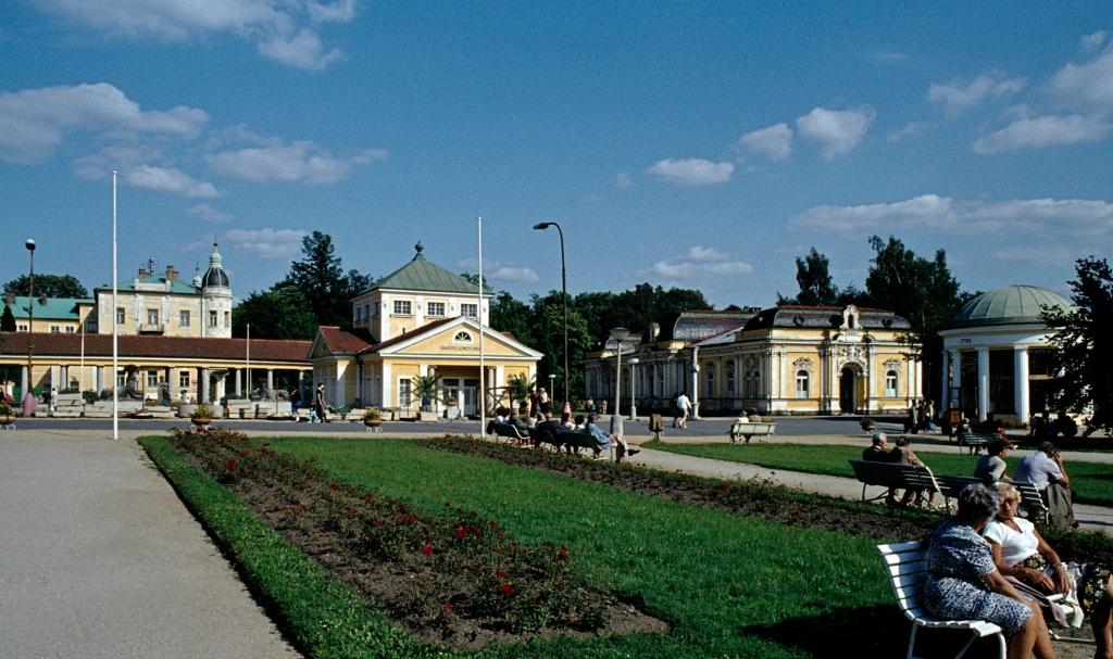 Franzensbad [tschech. Františkovy Lázně]: Kuranlagen (1982)