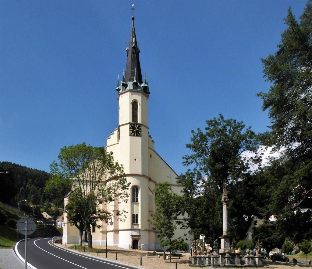 St. Joachimsthal [tschech. Jáchymov]: Joachimskirche (2020)