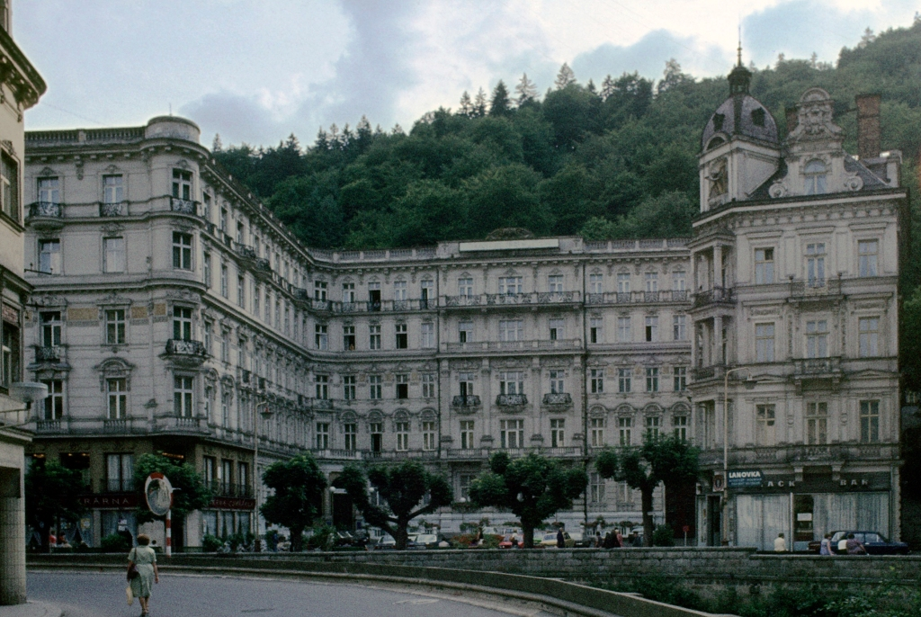 Karlsbad [tschech. Karlovy Vary]: Hotel Pupp (1982)