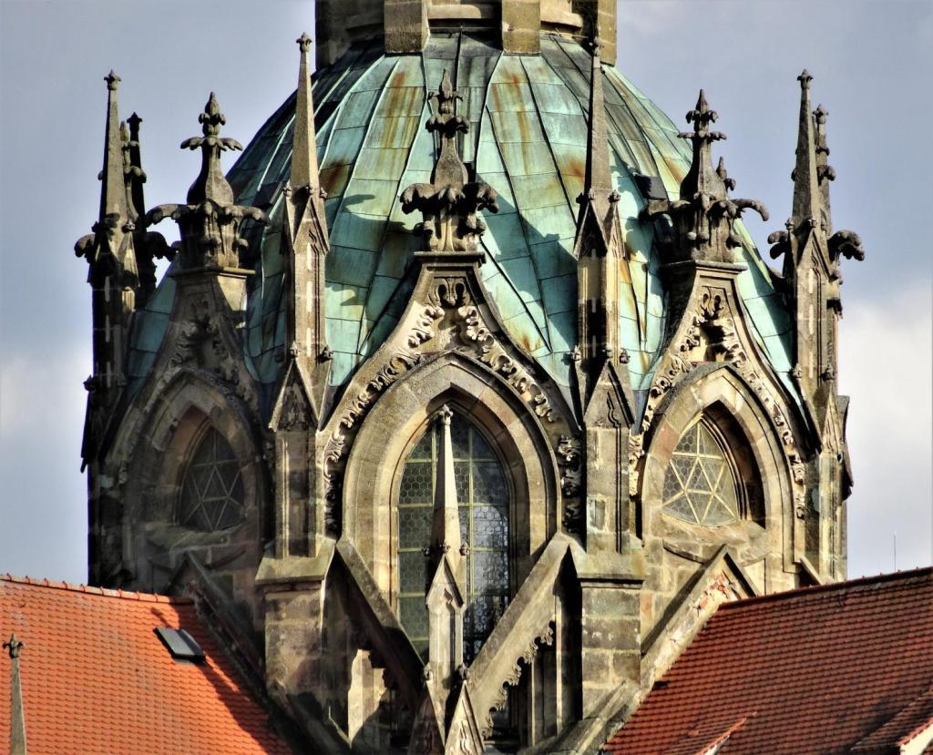 Kladrau [tschech. Kladruby]: Klosterkirche - Vierungskuppel (2020)