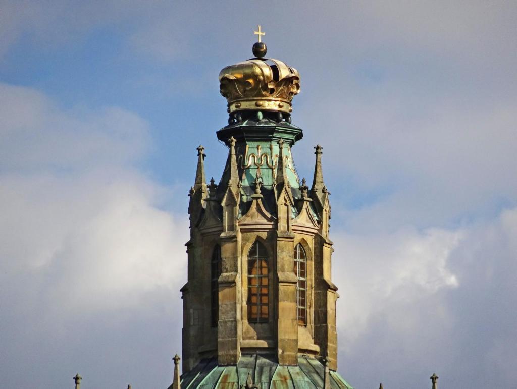 Kladrau [tschech. Kladruby]: Klosterkirche - Vierungsturm (2020)