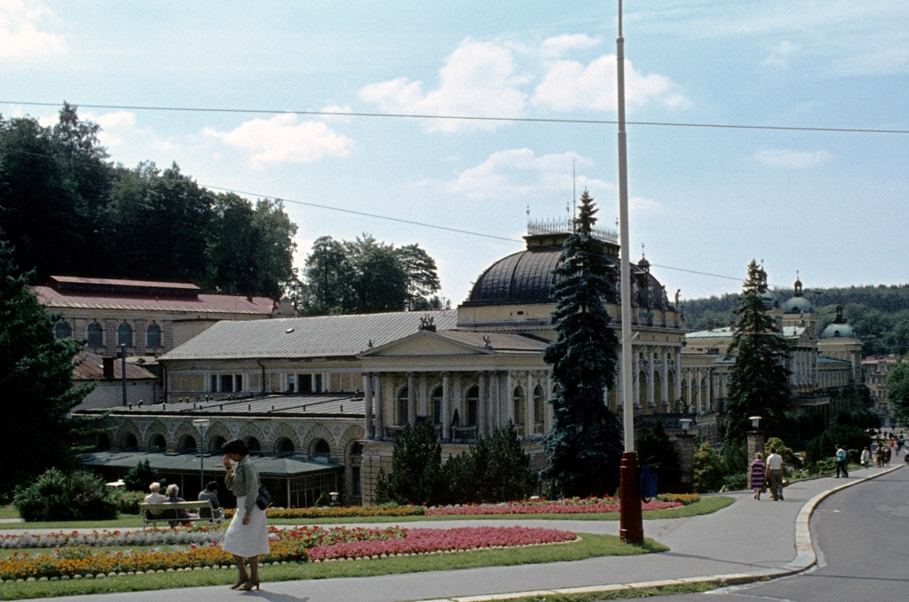 Marienbad [tschech. Mariánske Lázně]: Casino und Neues Bad (1982)