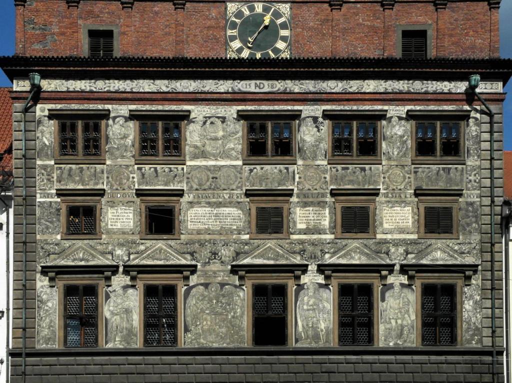 Pilsen [tschech. Plzň]: Rathaus (2020)