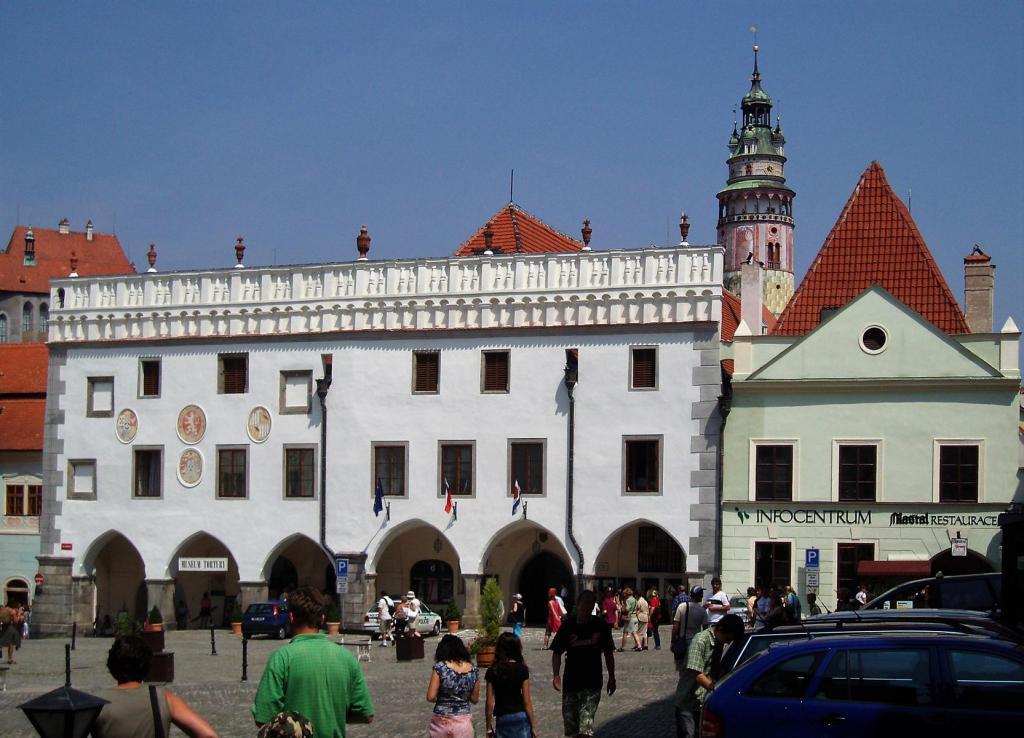 Krumau [tschech. Český Krumlov]: Rathaus (2006)