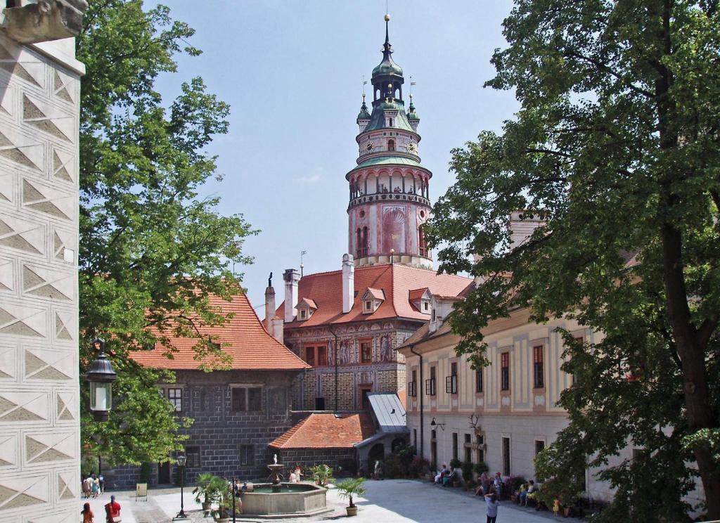 Krumau [tschech. Český Krumlov]: Schloss - 2. Hof (2006)