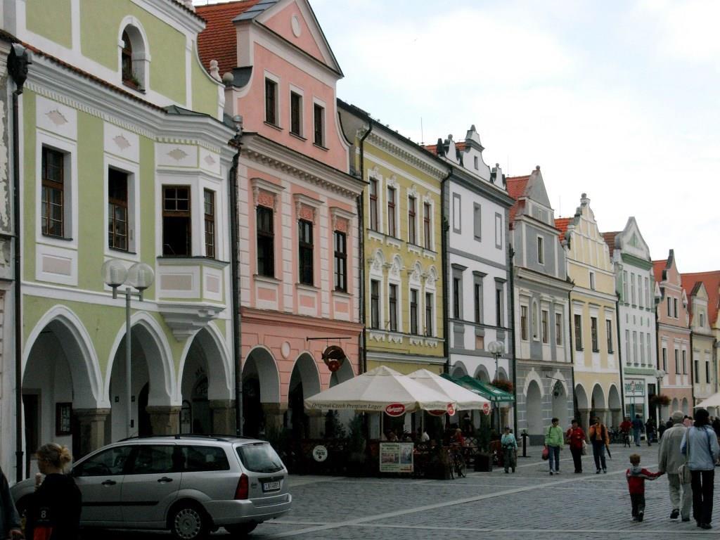 Wittingau [tschech. Třeboň]: Marktplatz (2008)
