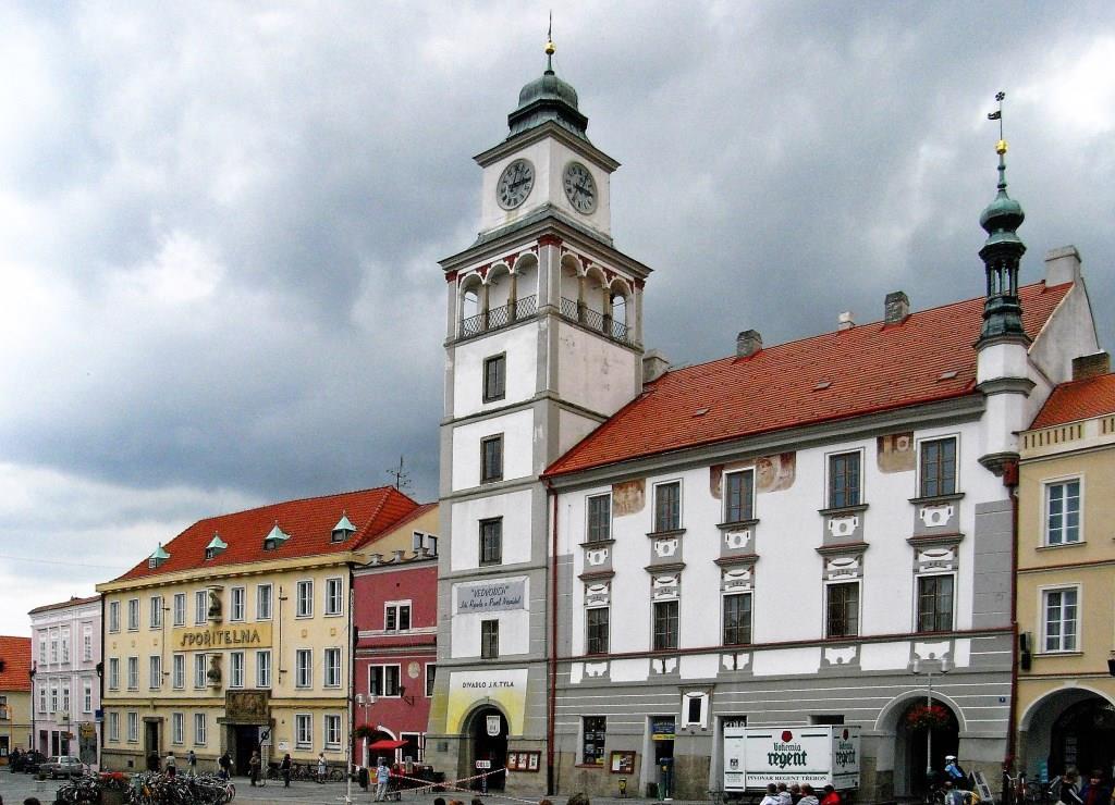 Wittingau [tschech. Třeboň]: Rathaus (2008)