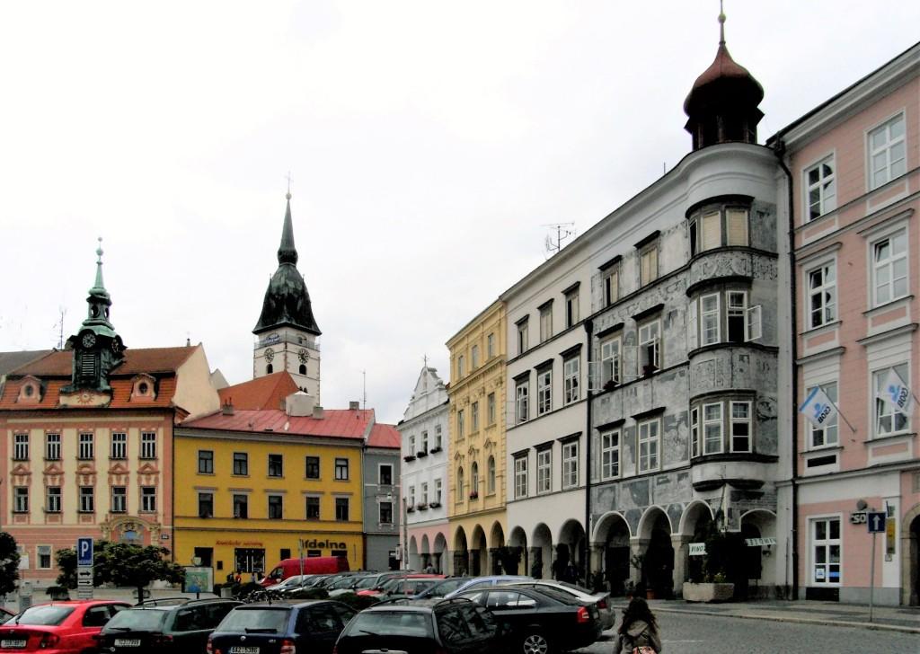 Neuhaus [tschech. Jindřichův Hradec]: Marktplatz (2008)