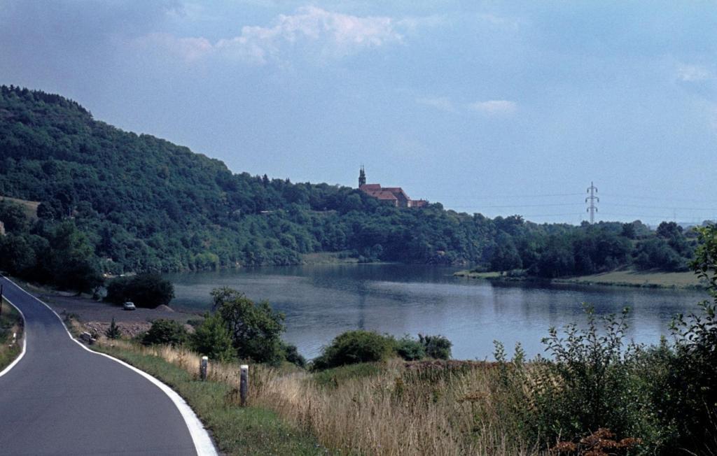 Stausee der Eger bei Kaaden [tschech. Kadaň] (1982)