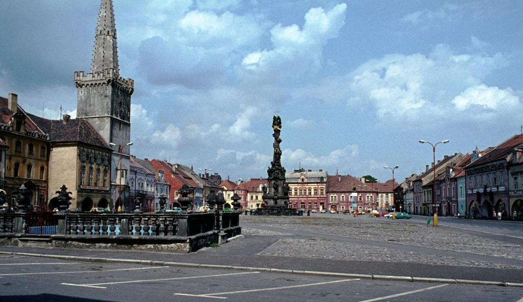 Kaaden [tschech. Kadaň]: Marktplatz (1982)