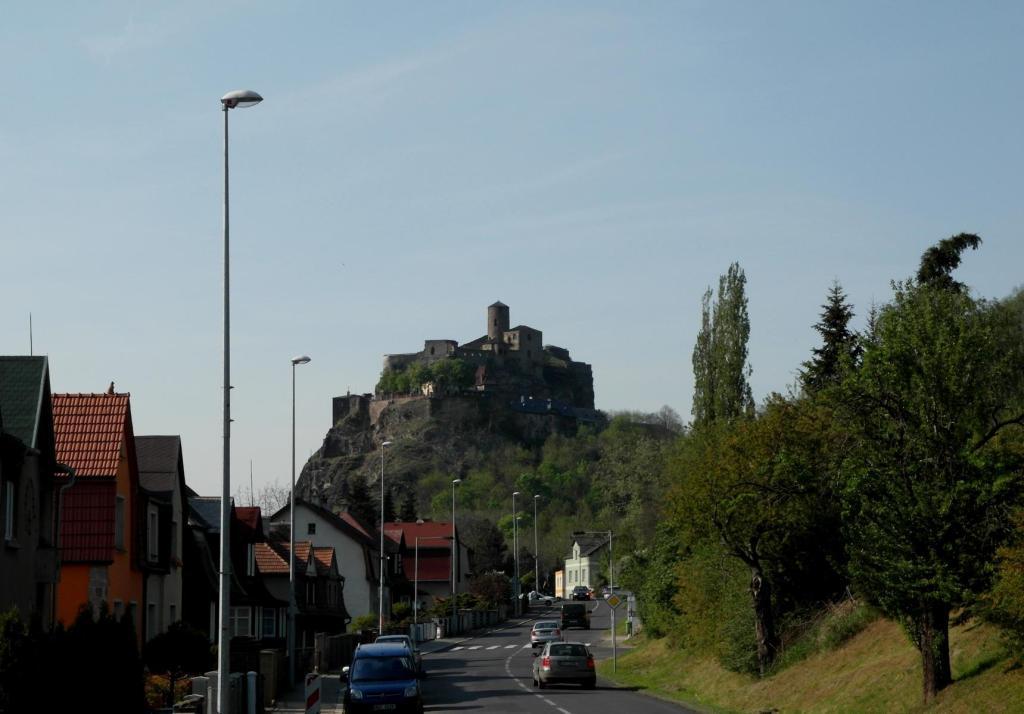 Aussig [tschech. Ústí nad Labem]: Burg Schreckenstein (2012)