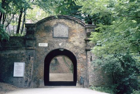 Brünn [tschech. Brno]: Spielberg - Eingang (1980)