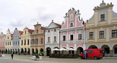 Teltsch [tschech. Telč]: Marktplatz (2008)