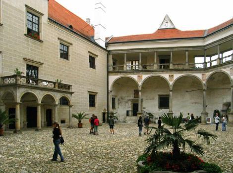 Teltsch [tschech. Telč]: Schloss - Innenhof (2008)