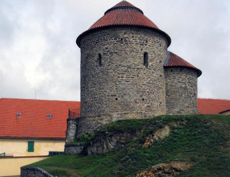 Znaim [tschech. Znojmo]: Burg - Rotunde (2008)