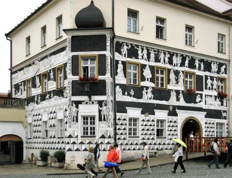 Nikolsburg [tschech. Mikulov]: Marktplatz (2008)