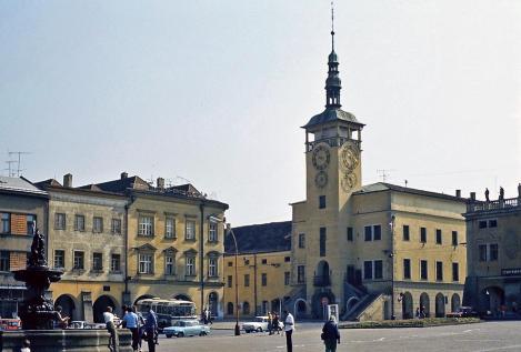 Kremsier [tschech. Kroměřiž]: Rathaus (1980)