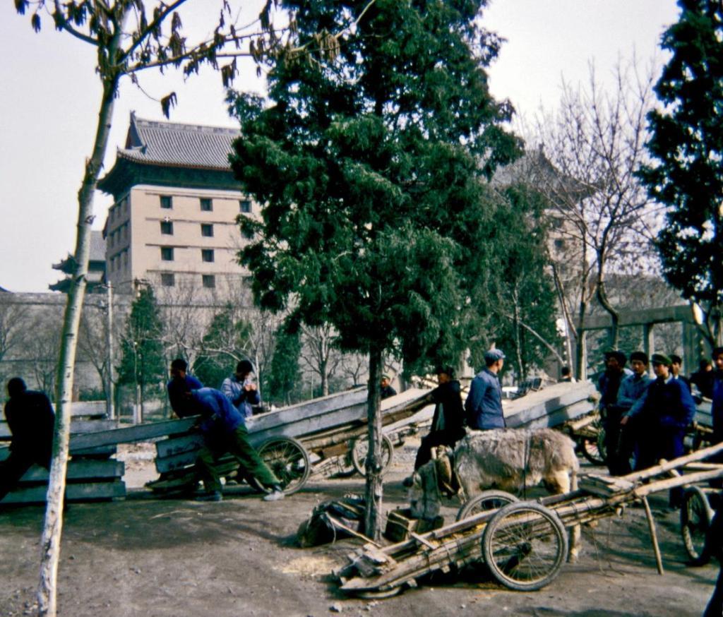 Sian [Xian]: Szene an der Stadtmauer (1979)